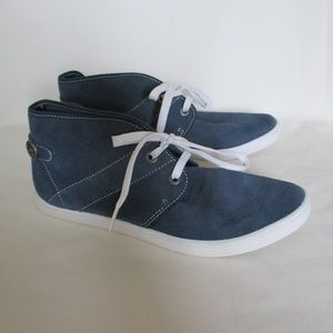 Rockport Coralee Desert Boot Blue Leather 10
